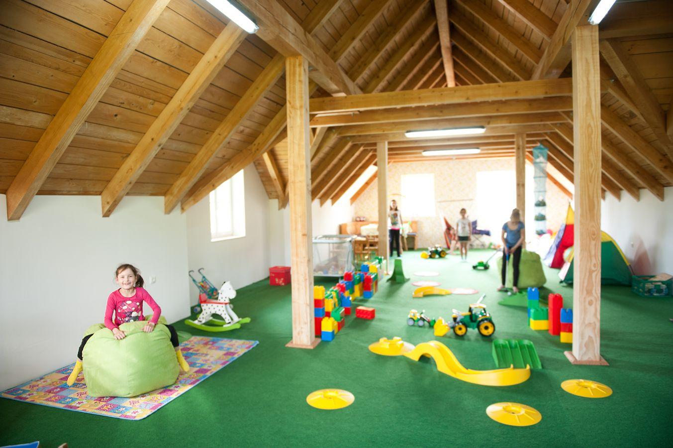 Ausreichend Spielräume für Kinder