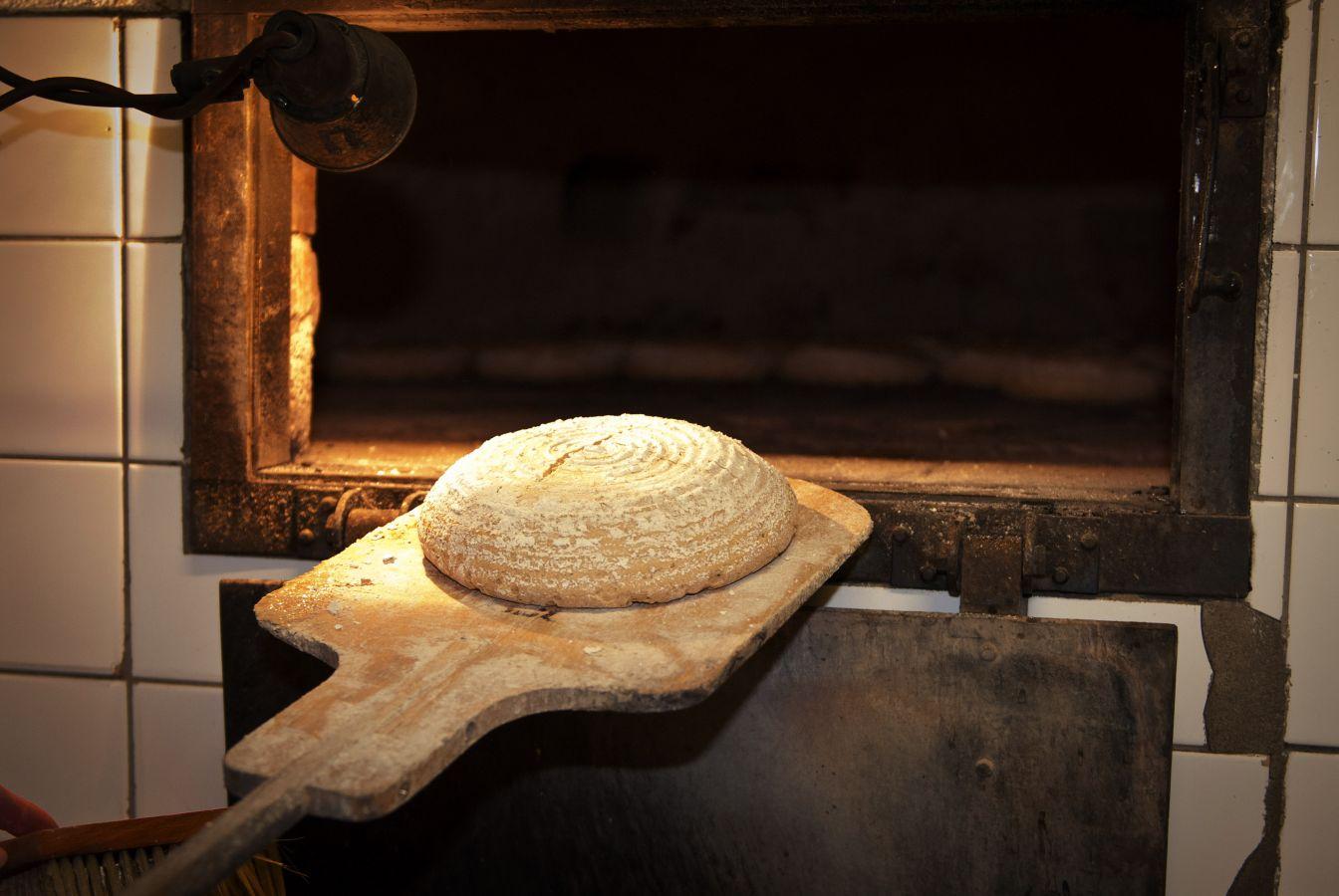 Holzofenbrot von der Bäckerei Niederl