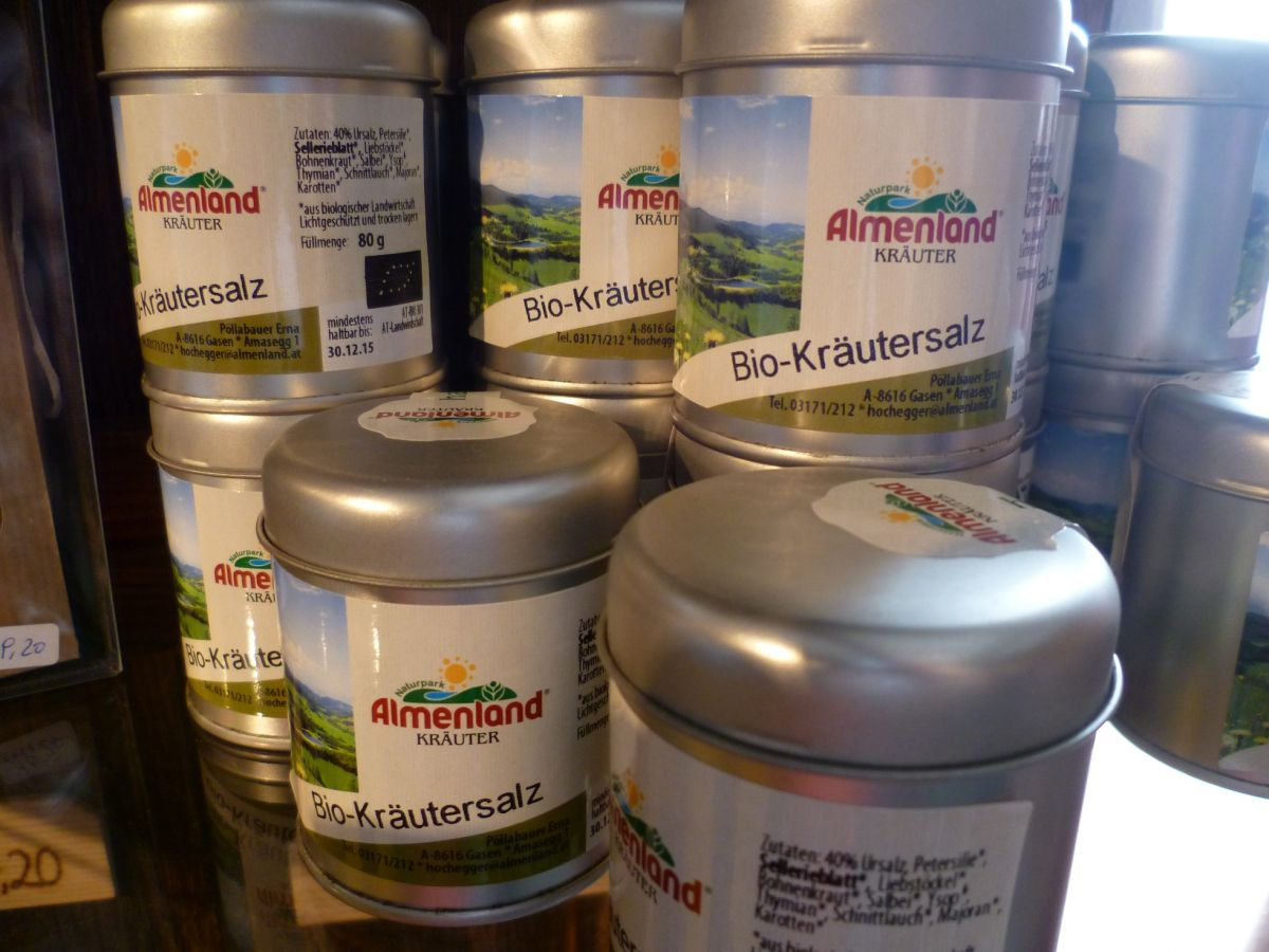 Almenland Kräuter Produkte