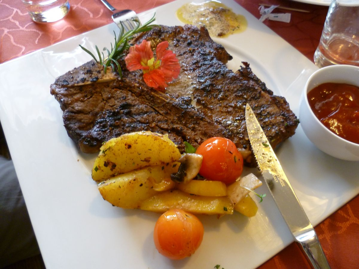 ALMO Steak in Perfektion bei den Almenland-Wirten