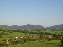 Blick auf unser Bauerndorf Tober